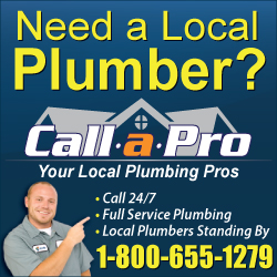 Call A Pro at 1-800-655-1279